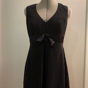 Betsey Johnson Black Lace Fit & Flare, Sz 6
